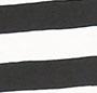 Black/Natural Wide Stripe