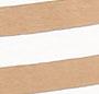 Tan/Natural Wide Stripe
