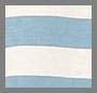 Sky Blue/Natural Wide Stripe