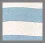 Sky Blue/Natural Wide Stripe