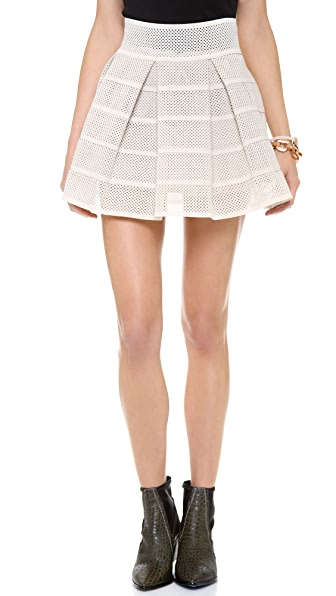 endless rose Power Pleat Miniskirt