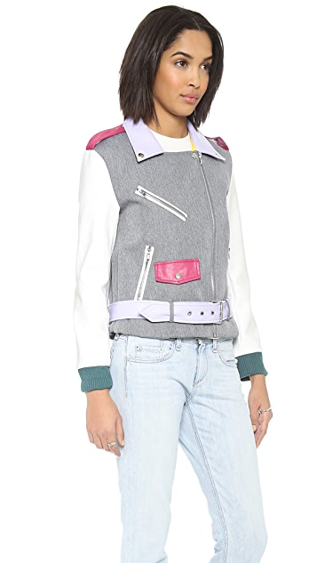 endless rose Pop Moto Jacket