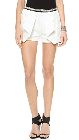 endless rose Cropped Shorts With Pockets