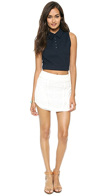 endless rose Textured Skirt