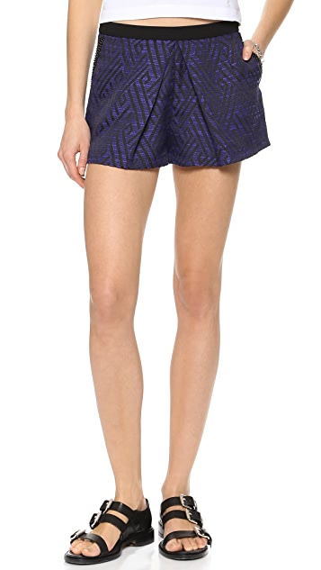 endless rose Shorts with Stone Details