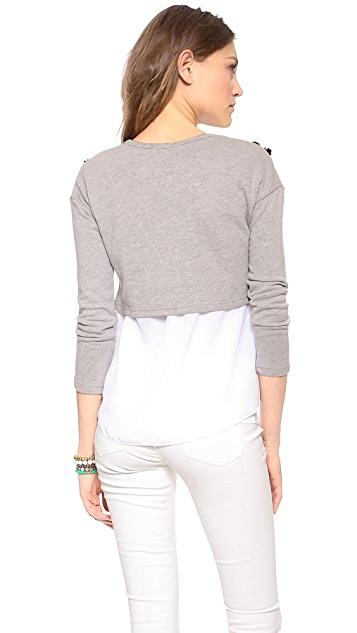 endless rose Detailed Sweatshirt Top