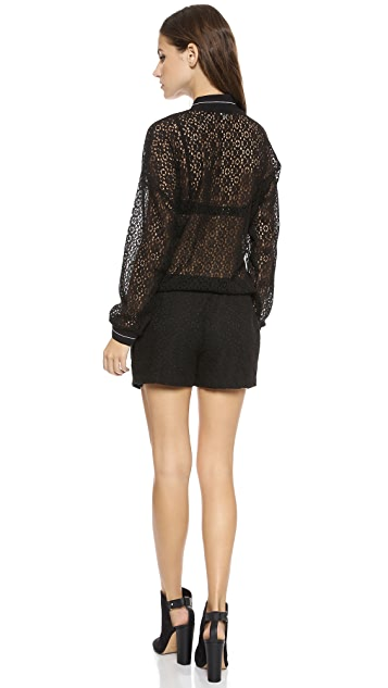 endless rose Castle Hill Lace Romper