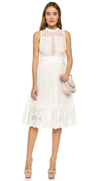 endless rose Swiss Lace Dress