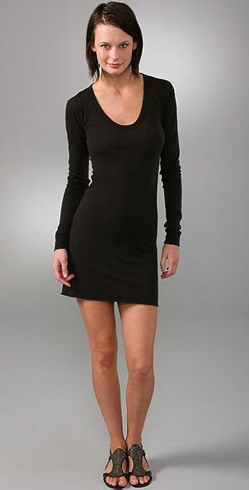 Enza Costa Bold Long Sleeve Dress