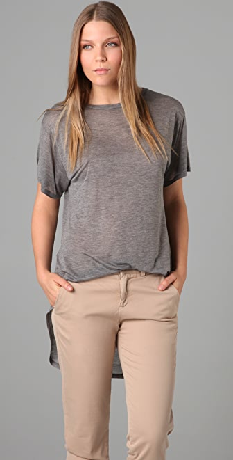 Enza Costa Short Sleeve Tails Tee