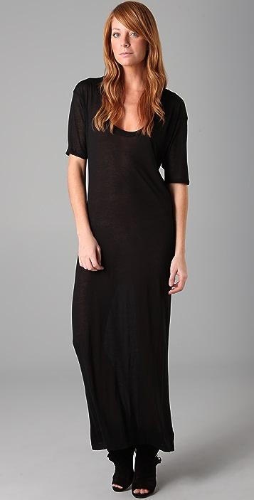 Enza Costa Long U Dress