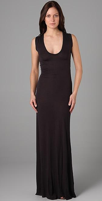 Enza Costa Sleeveless Long Dress