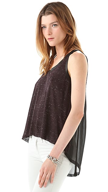 Enza Costa Chiffon Panel Tank
