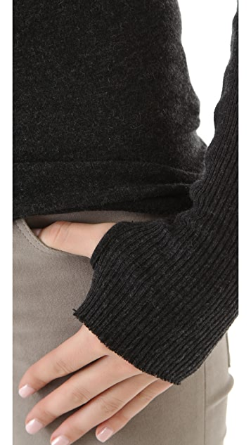 Enza Costa Colorblock Sweater