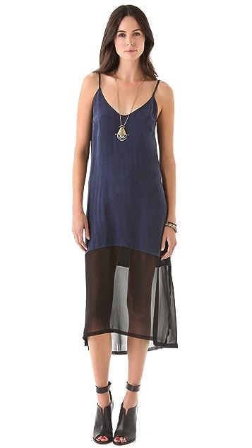Enza Costa Cupro Slip Dress