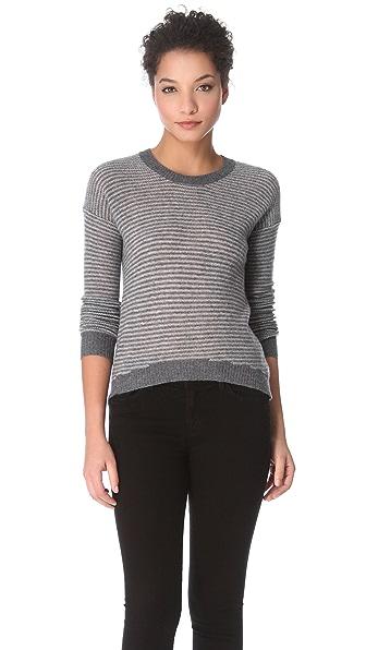 Enza Costa Cashmere Crew Sweater