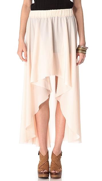 Enza Costa Hi / Lo Skirt