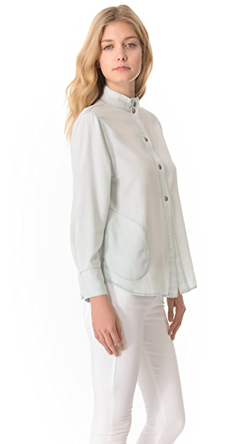 Enza Costa Fitted Shirt