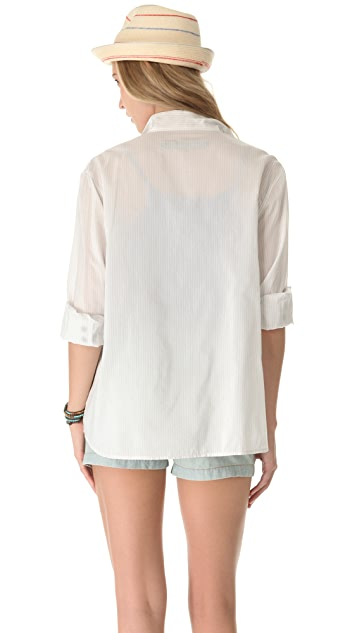 Enza Costa Long Sleeve Shirt