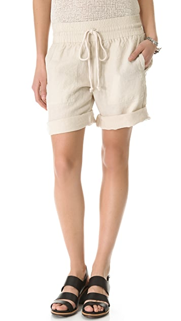 Enza Costa Linen Shorts