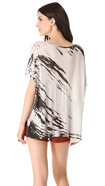 Enza Costa Oversized Tee Top