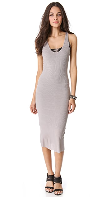 Enza Costa Rib U Tank Dress