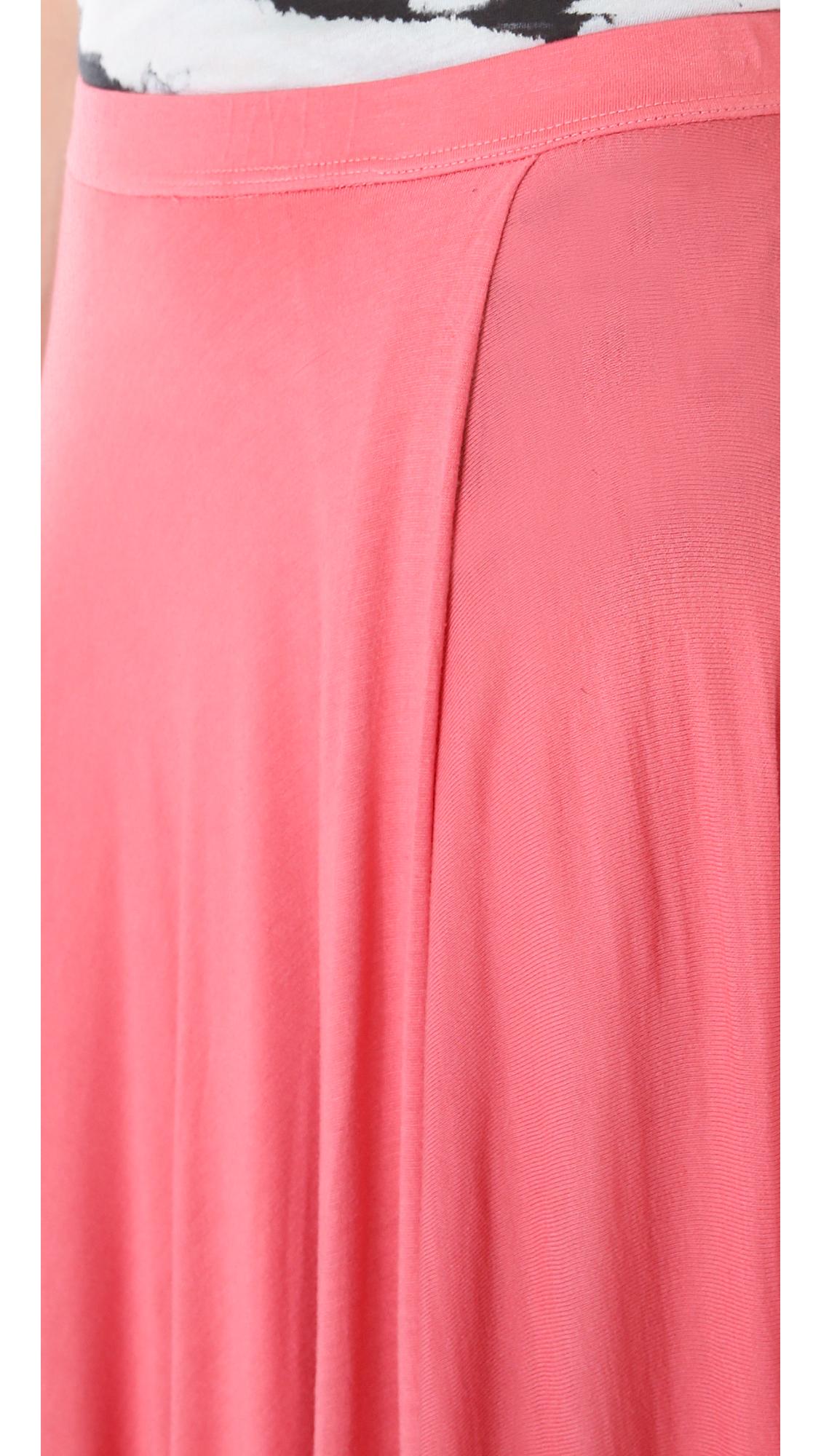 a6ee295f10 Enza Costa Full Circle Maxi Skirt   SHOPBOP