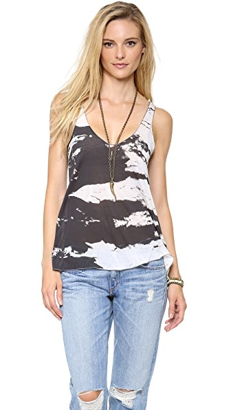 Enza Costa Stripe Lose Tank