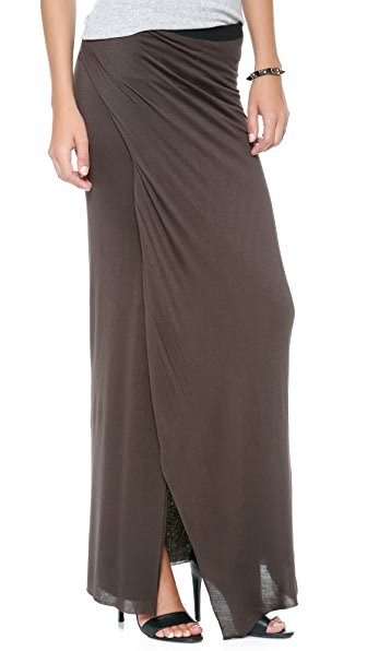 Enza Costa Wrap Column Skirt