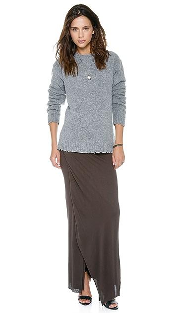 Enza Costa Wrap Column Skirt