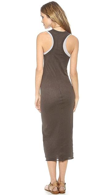 Enza Costa Bold Double Racer Dress
