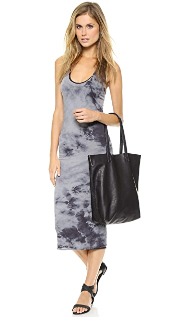 Enza Costa Bold Doubled Tank Dress