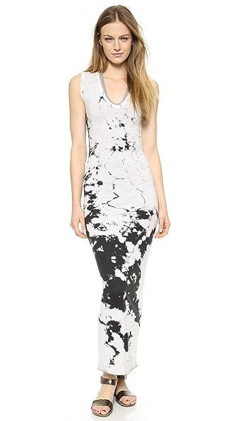 Enza Costa Doubled U Maxi Dress