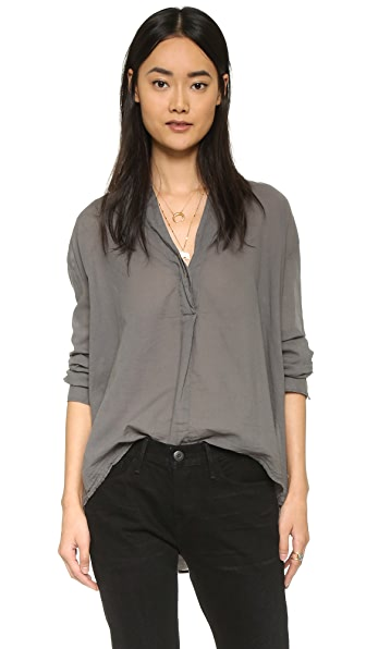 Enza Costa Peasant Top