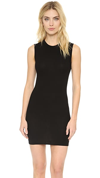 Enza Costa Ribbed Sleeveless Mini Dress at Shopbop