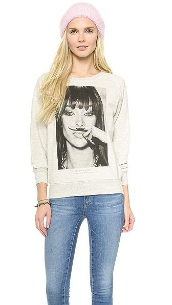 ElevenParis Naomi Campbell Moustache Sweatshirt