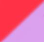 Rainbow Confetti/Rd Florescent