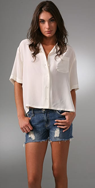 Equipment Almost Famous Blouse
