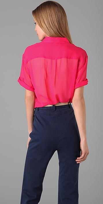 Equipment Runaway Short Sleeve Shirt