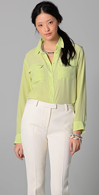 Equipment Signature Classic Blouse
