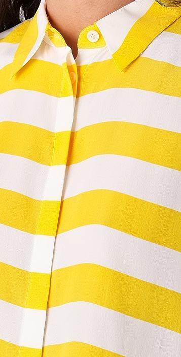 Equipment Leandra Cabana Stripe Blouse