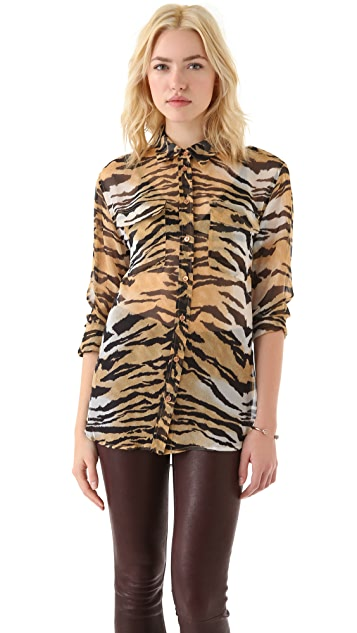 Equipment Bengal Tiger Signature Blouse