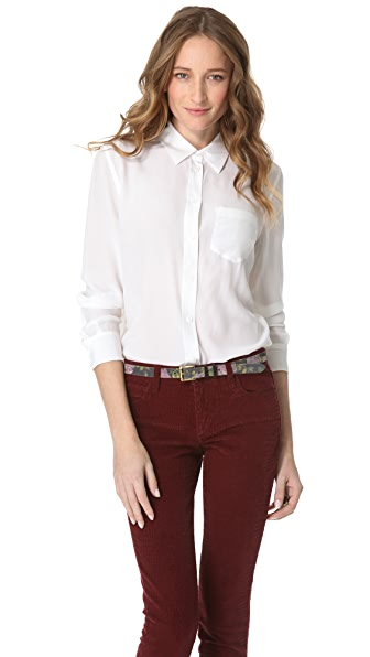 Equipment Reese Button Down Shirt with One Pocket