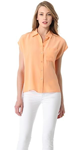 Equipment Marley One Pocket Blouse