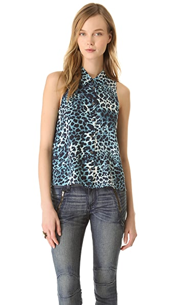Equipment Mina Safari Cheetah Button Down