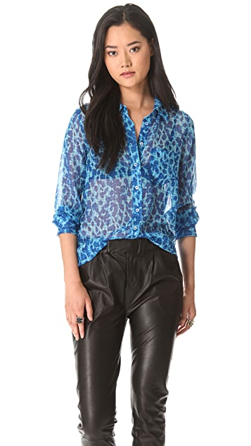 Equipment Brett Button Down Blouse