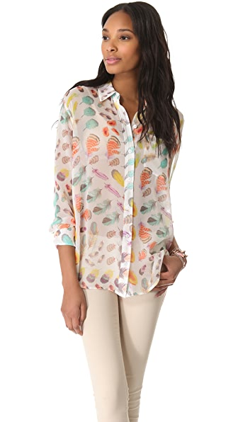 Equipment Daddy Button Down Blouse