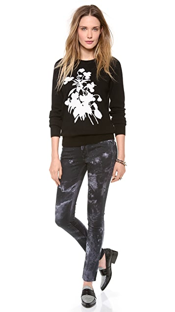 Equipment Sloane Flower Cashmere Sweater