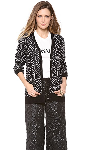 Equipment Sullivan Jacquard Cardigan