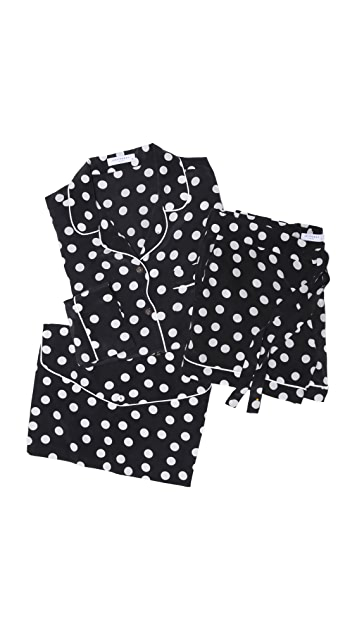 Equipment Lillian Polka Dot Pajama Set